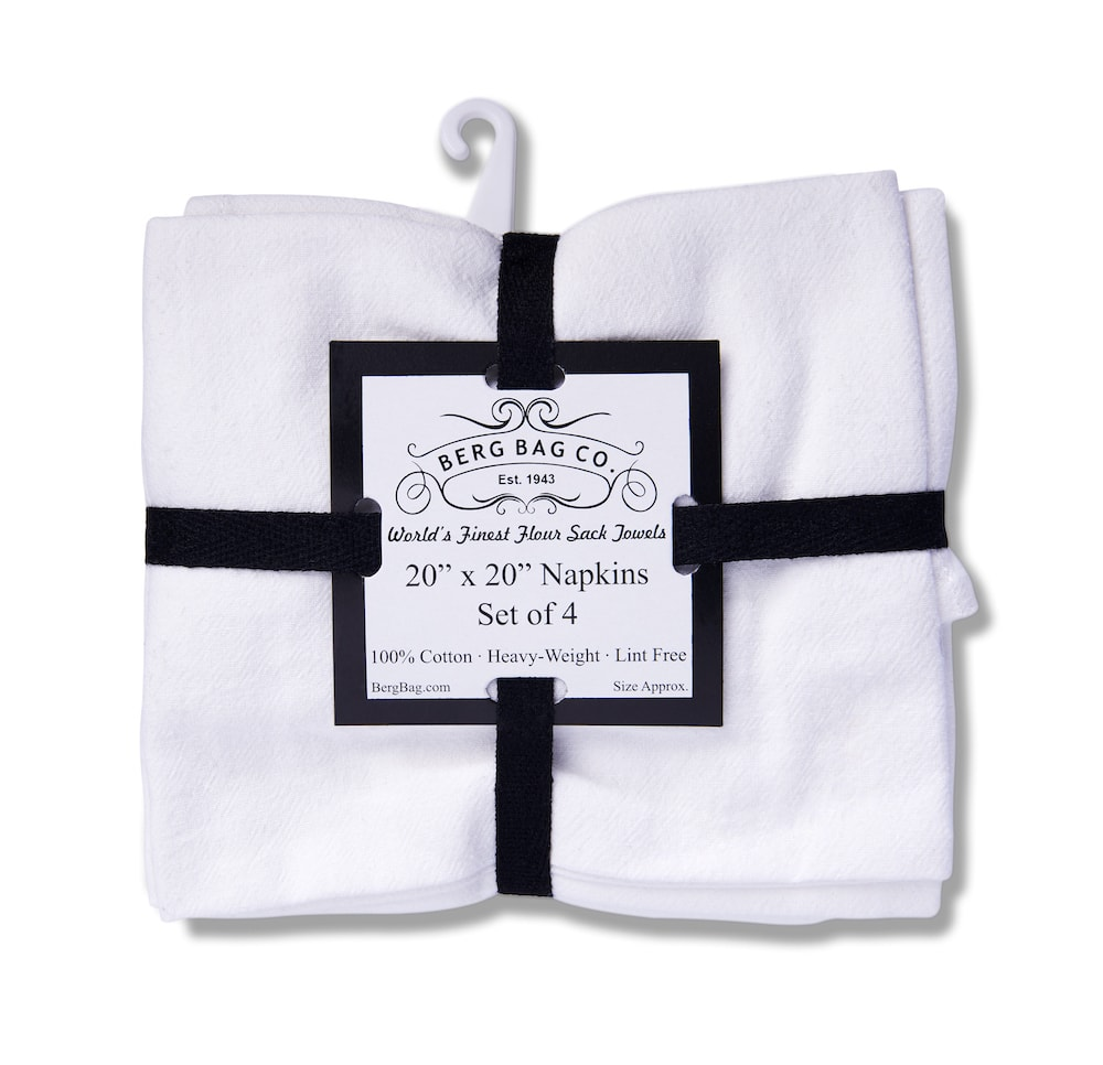 Berg Bag Company - Wholesale Flour Sack or Tea Towels